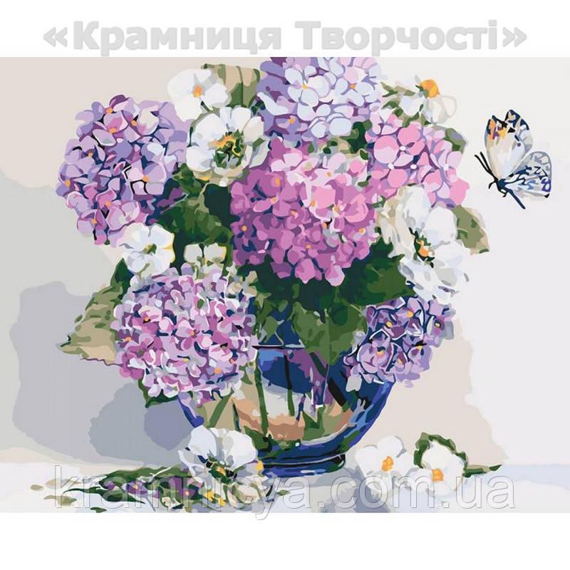 Картина по номерам Шикарная гортензия, 40х50 (КНО2083)