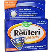 Пробиотики, Natures Way, Реутери, 60 капсул