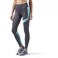 Леггинсы для бега с спорта женские reebok Running Essentials Reebok Mesh CE4609 - 2018