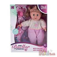 Кукла-пупс интерактивный с аксессуарами No name 6900316895991