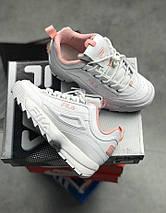Женские кроссовки Fila Disruptor 2(II) White/Pink, фото 2
