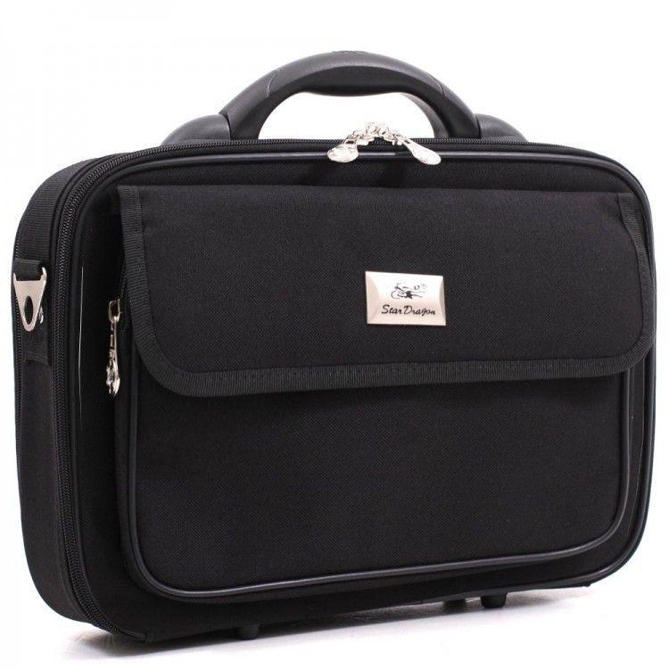 Черный кейс среднего размера Stardragon арт. 0004-05 - Интернет-магазин сумок BagShop.ua в Киеве