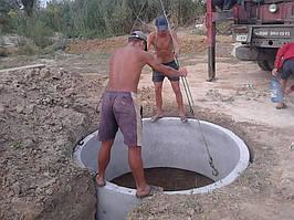 Рытье канализаций в Киеве. -1
