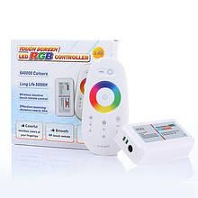 Контроллер RGB 18A RF 2,4G touch