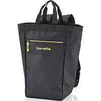 Сумка-рюкзак черная унисекс Travelite TL000160-01