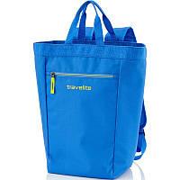 Сумка-рюкзак синяя унисекс Travelite TL000160-23
