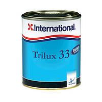 Краска необрастающая, по алюминию, Trilux 33/750 мл/темно-синяя
