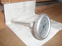 Термометр корабельный ТК-100-100 от 0 до 100 L=100, Термометр биметалический