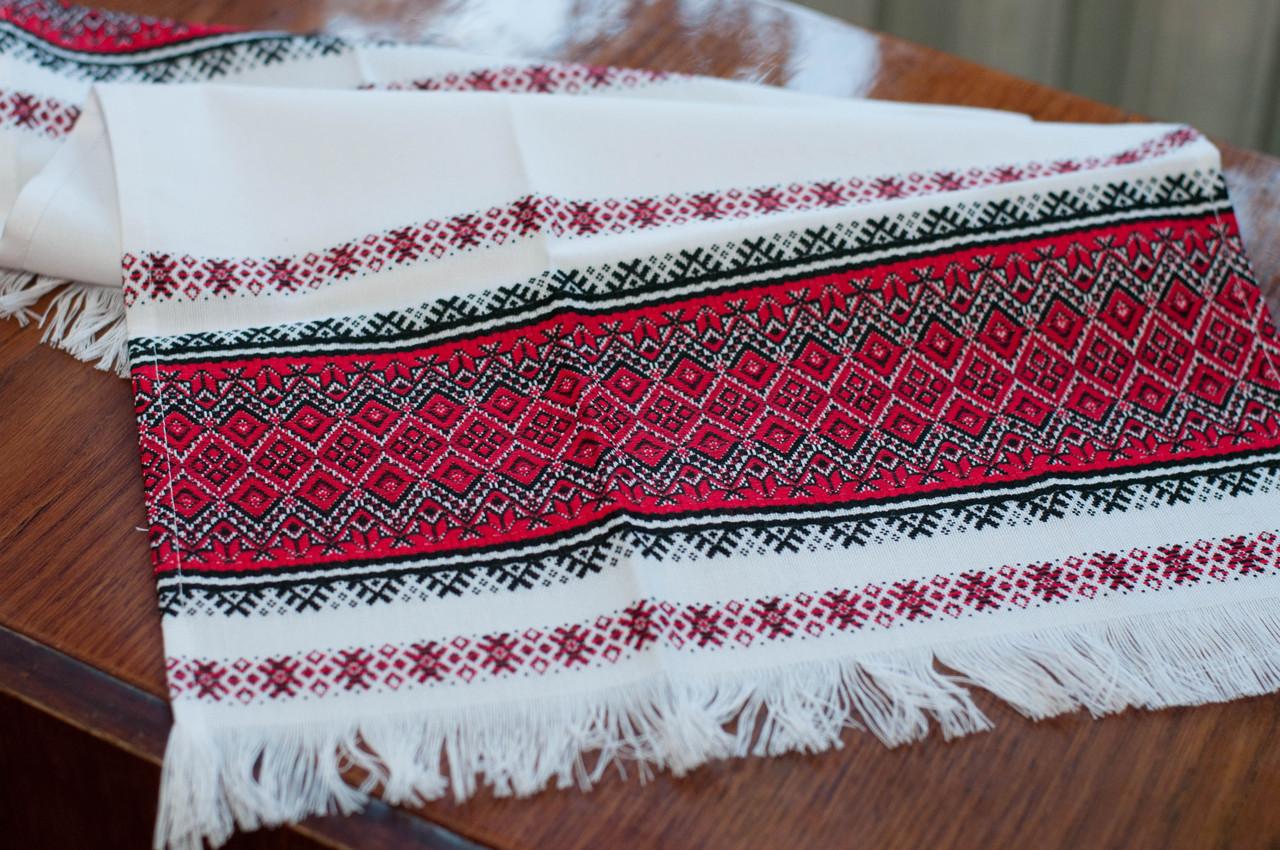 Тканый свадебный рушник «Оранта короткая»