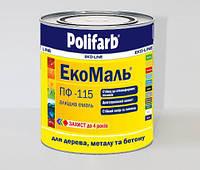 ЕкоМаль ПФ-115 0,9кг Біла Polifarb