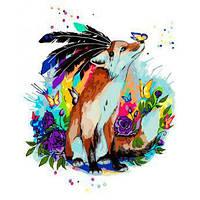 """Картина за номерами Тварини, птахи """"Казкові пригоди"""" 40х50см KHO4018"""