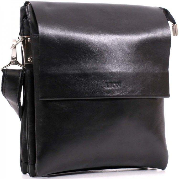 b01a88d063c1 Мужская кожаная сумка через плечо Leon арт. M-43 - BagShop.ua интернет