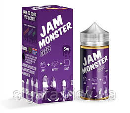 Жидкость Jam Monster Grape 100 мл Clone