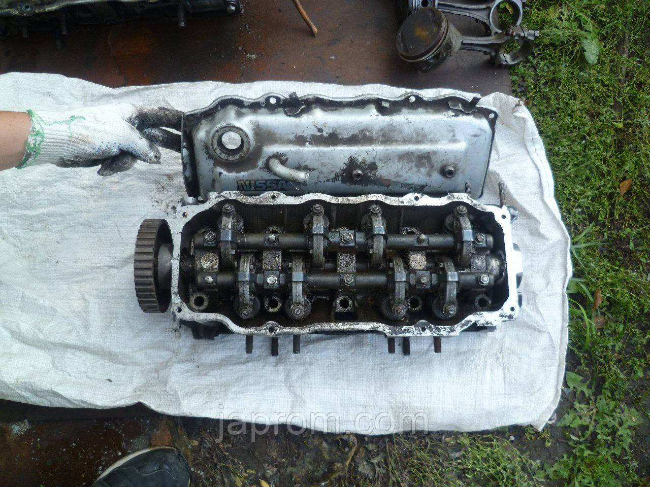 Головка блока цилиндров (ГБЦ) Nissan Bluebird U11 1983-1990г.в. CA20