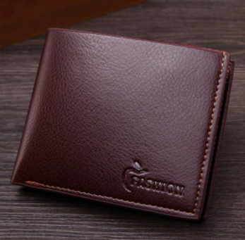 Кожаный мужской кошелек, фото 2