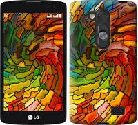 """Чехол на LG L Fino D295 Витраж 2 """"3578c-240-328"""""""