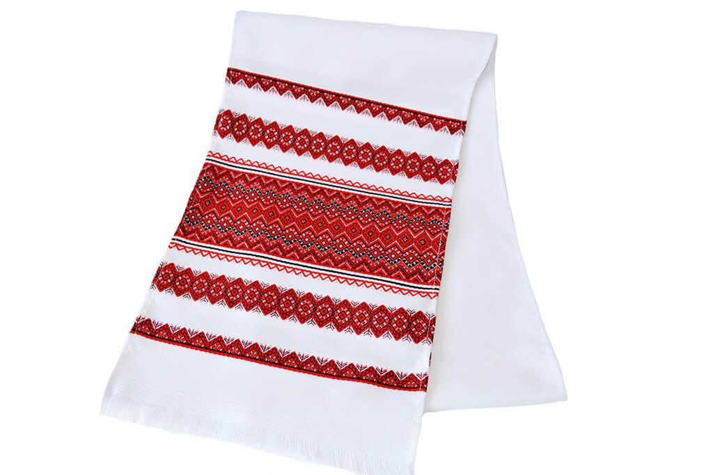Свадебный тканый рушник «Аншлаг новый» 1,4 м