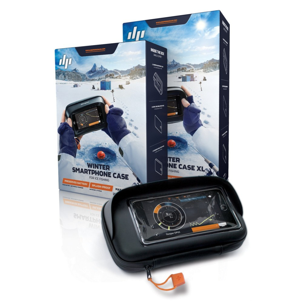 Аксессуар к эхолотам Кейс для смартфона для зимней рыбалки XL Deeper