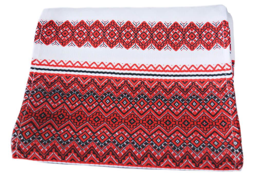 Тканый свадебный рушник «Аншлаг новый» 2,4 м