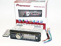 Автомагнитола пионер Pioneer 574 Usb+Sd+Fm+Aux+ пульт, фото 5
