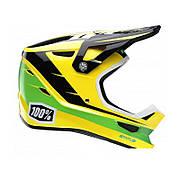 Вело шлем Ride 100% STATUS DH/BMX Helmet - D-Day Yellow, M