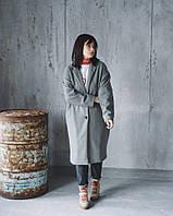 Женское Пальто из ангоры на подкладке