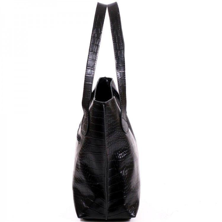 1eee7742b1b5 Великолепная кожаная сумка с тиснением под рептилию BagTop арт. BTJS-1,  цена 1 250 грн., купить в Киеве — Prom.ua (ID#184095457)