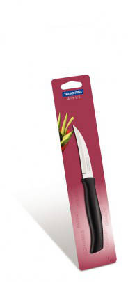 Нож шкуросъемный Tramontina ATHUS black 76мм , фото 2