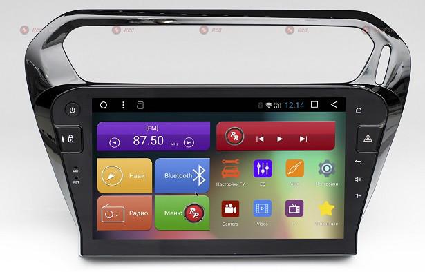 Штатная автомагнитола Redpower RP51213RIPS DSP для Citroen C-Elysee, Peugeot 301 на Android 6.0.1 Marshmallow