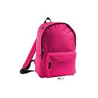 Рюкзак рожевий з поліестеру 600d SOL'S RIDER, Франція під нанесення логотипів, фото 1