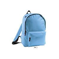 Рюкзак блакитний з поліестеру 600d SOL'S RIDER 15 кольорів, Франція під нанесення логотипів