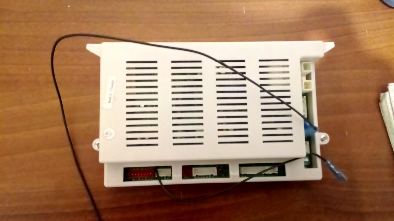 Плата управления Grandini, Welfare JLG-W,В 4 дымоходная версия.