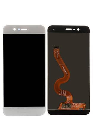 Дисплей (экран) для Huawei Nova 2 Plus 2017 BAC-L21 з сенсором (тачскріном) белый, фото 2