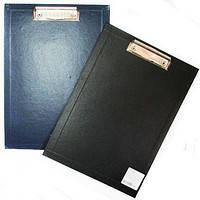 Планшет А4 30153-01 з притиском, пласт., чорний (20) (Економікс)