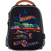 Рюкзак школьный каркасный 531 Hot Wheels HW 18-531M, фото 1