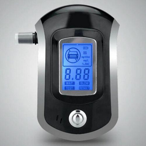 Карманный профессиональный цифровой алкотестер с экраном TIROL AT6000