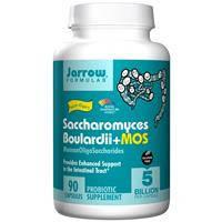 Пробиотики, Jarrow Formulas, Сахаромицеты буларди плюс моноолигосахариды, 90 капсул