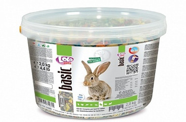 Полнорационный корм для кролика 2 кг Lolopets