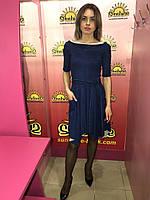 Женское платье из замша   Poliit 8139, фото 1