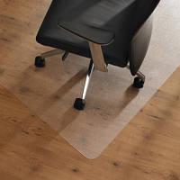 Защитный напольный коврик под кресло 1,0мм 1000*1250мм Прозрачный, фото 1
