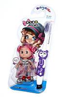 Детская зубная щётка +кукла