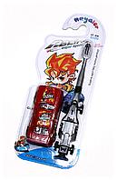 Детская зубная щётка + машинка для мальчиков