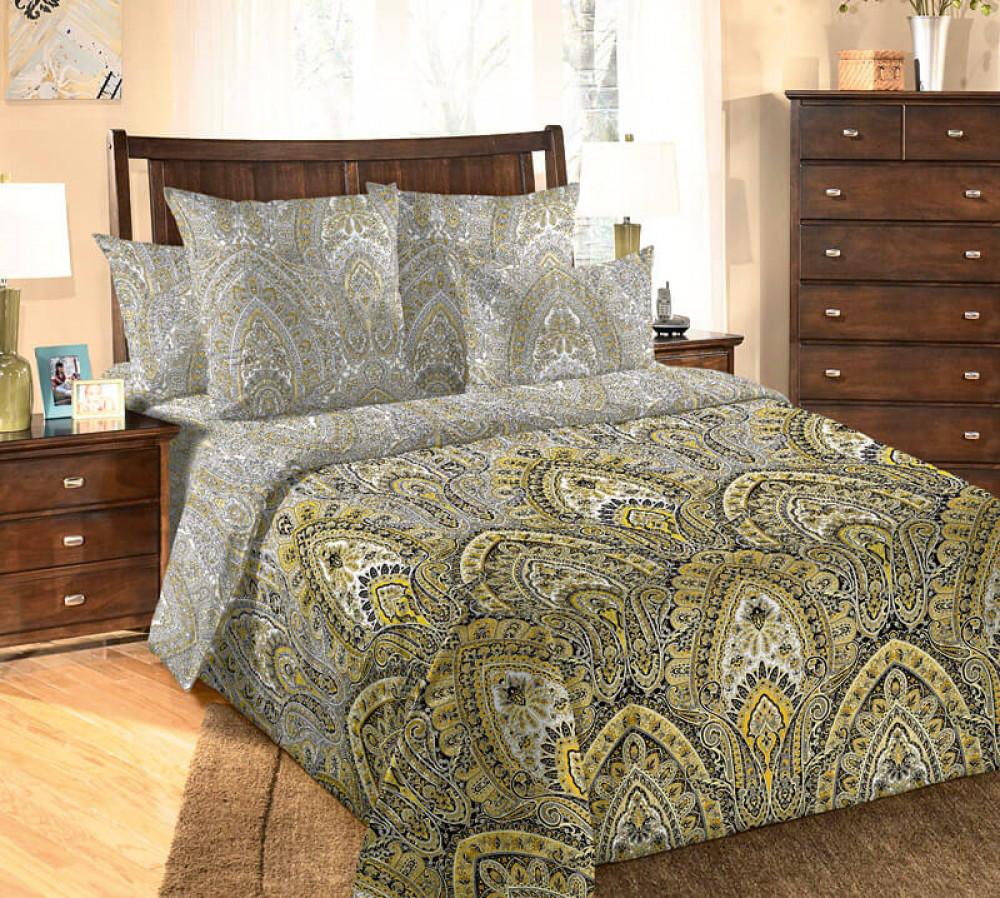 Постельное бельё  Акапелла, перкаль (Двуспальный  Евро)Комплект постельного белья