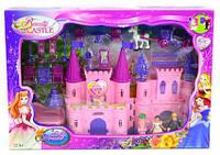 Замок SG-2964 с мебелью, куклами, каретой