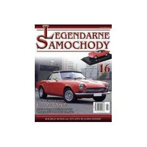 Модель Легендарные Автомобили (Amercom) №16 Fiat 124 Sport Spyder
