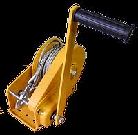 Тяговая ручная лебедка ручная c тормозным фиксатором грузоподъемность  1150 кг