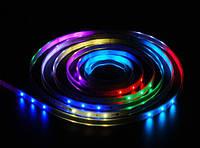 """Светодиодная лента """"Бегущая волна"""" RGB 5050 30LED/m 3LED IP67 (герметичная)"""