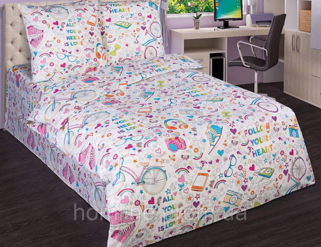Постельное белье KidsDreams 150 Модные штучки подростковое