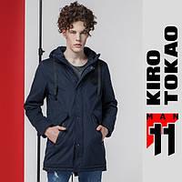 11 Kiro Tokao | Японская парка демисезонная 8888 темно-синяя