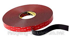 3M™ VHB™ Двусторонняя клейкая лента (скотч) 5925F 6мм х 33м, толщ. 0,64мм, цвет черный, фото 2